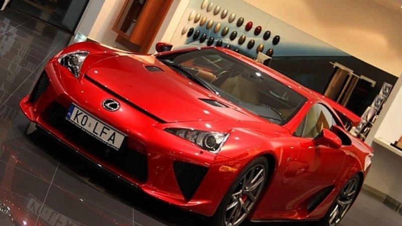 Lexus LFA na sprzedaż w Polsce! Chętni?